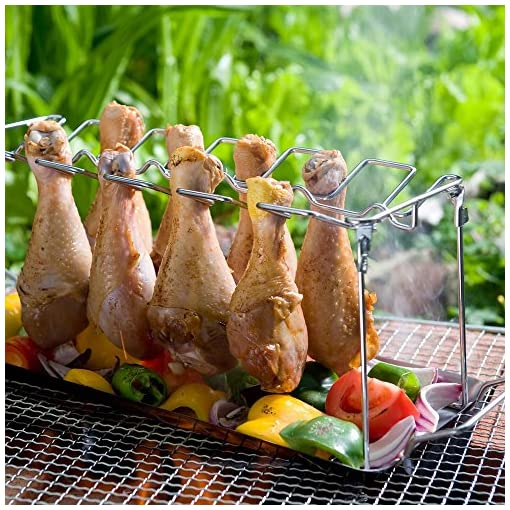 Stainless-Steel-Chicken-Wing-or-Drumstick-Rack-for-BBQ-or-OVen