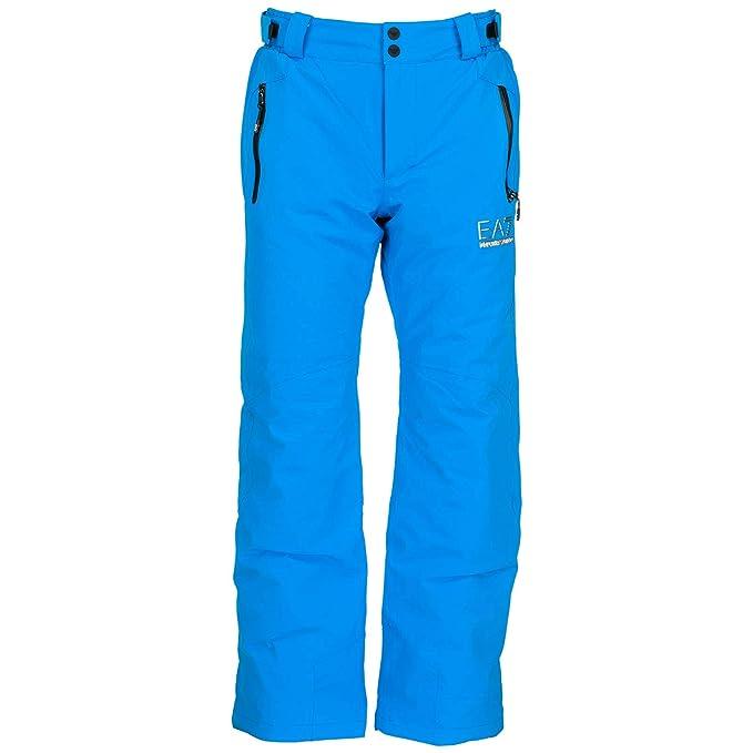 the latest a34d1 f16ca Emporio Armani EA7 pantaloni sci uomo nwe blue china M ...