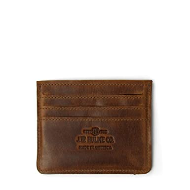036b0e6db59 J.W. Hulme Slim Card Wallet, Stylish and Lightweight, American Heritage  Leather
