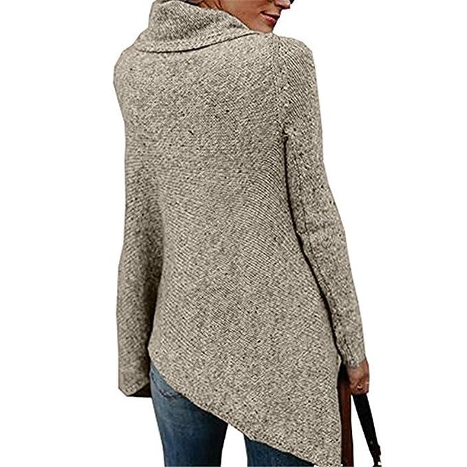 Yvelands Mujer Rayas Poncho Borlas de otoño Slash Gradient Shawl Hem Fringe Suéter Flojo Top Blusa: Amazon.es: Ropa y accesorios