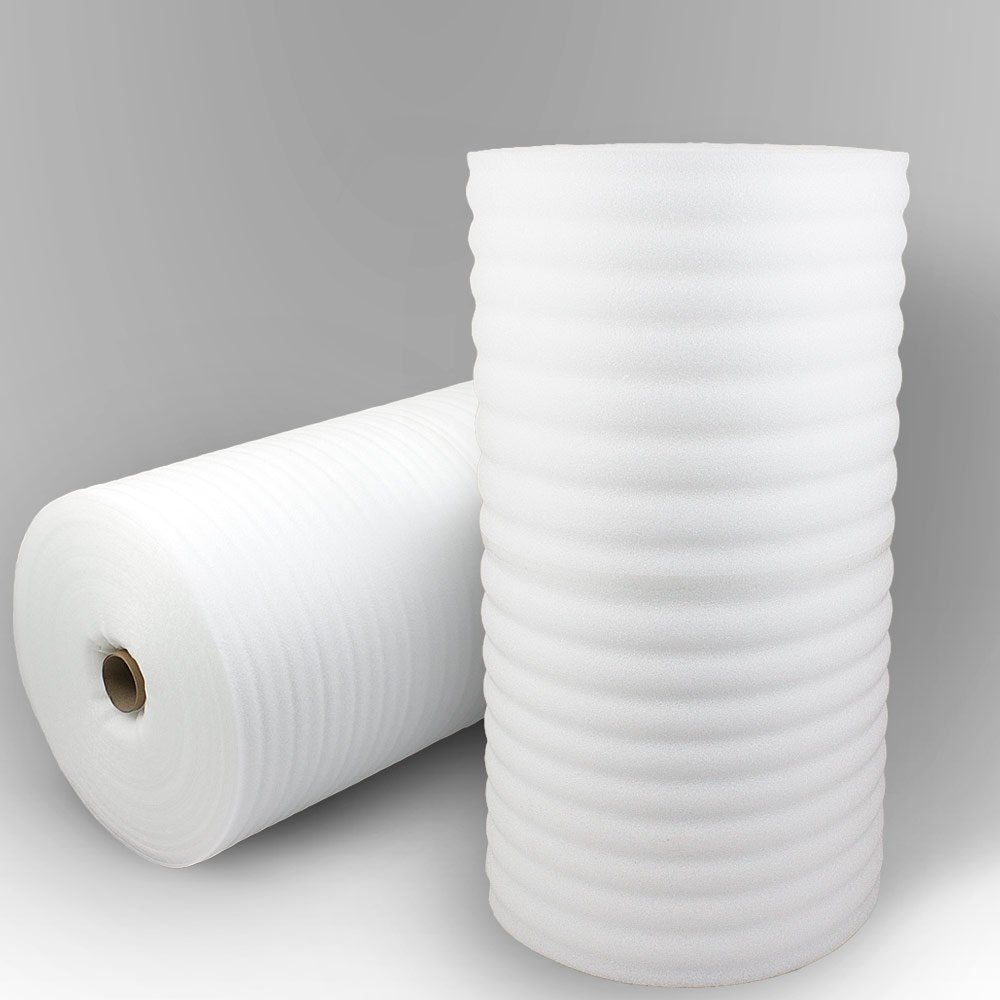 250 m² Trittschalldämmung 5 mm aus PE Schaum für Laminat Parkett als Unterlage