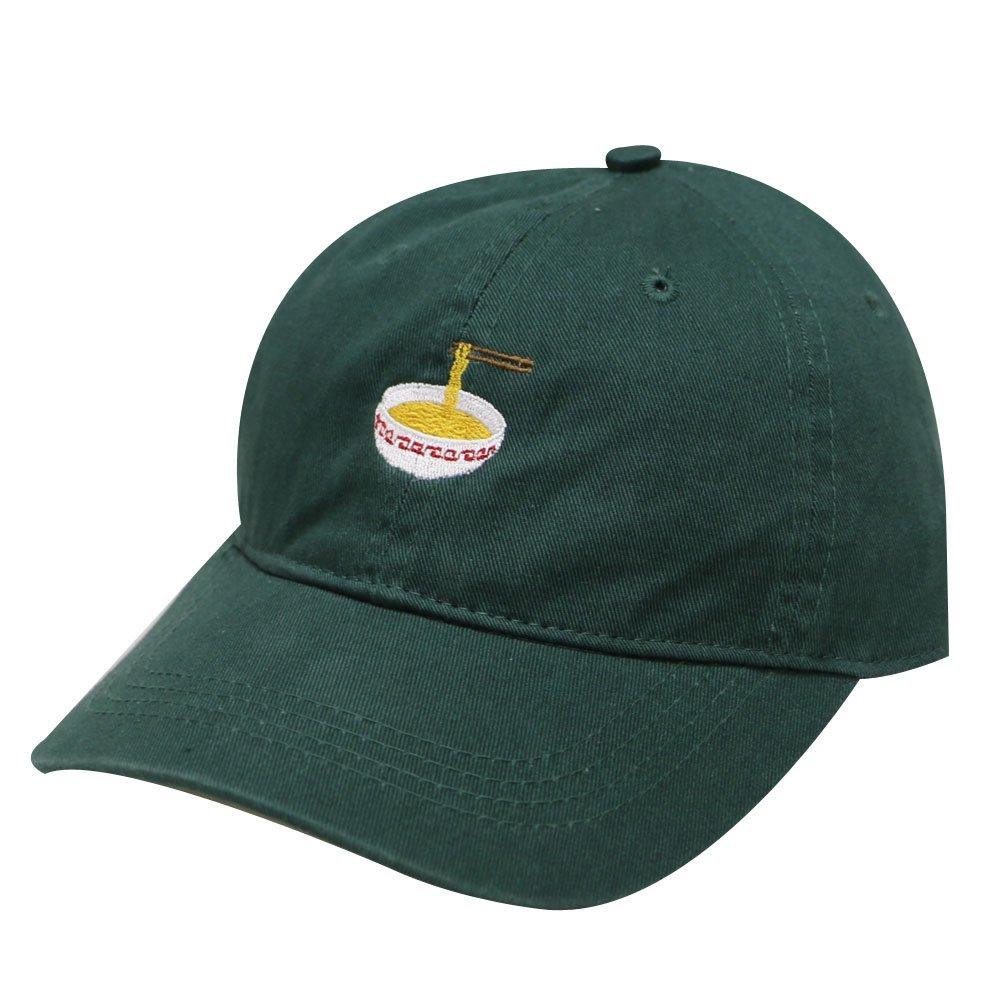 City Hunter C104 Noodles Cotton Baseball Dad Caps 17 Colors (Hunter Green)