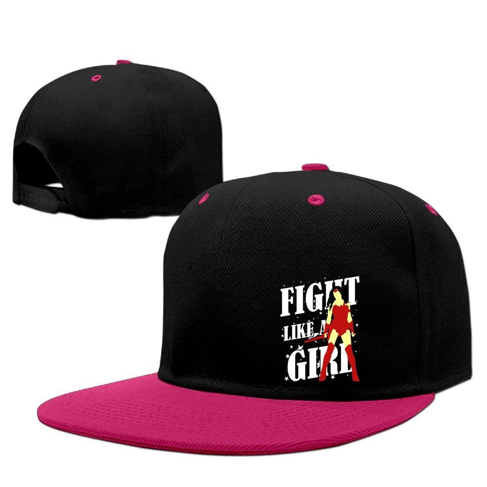 Fight Like A Girl Fashion Baseball Cap (Pink)