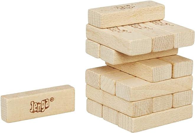 Jenga Hasbro Mini 18 cuadras - Ideal para Viajar: Amazon.es: Juguetes y juegos