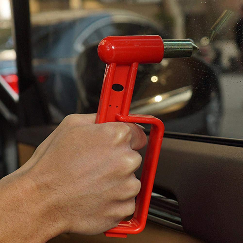Bus Orange Rettungswerkzeug Sicherheitshammer Sunneey Notfallhammer F/ürs Auto Fenster Nothammer Lebenshammer Mit Gurtschneider Geeingenet F/ür Auto