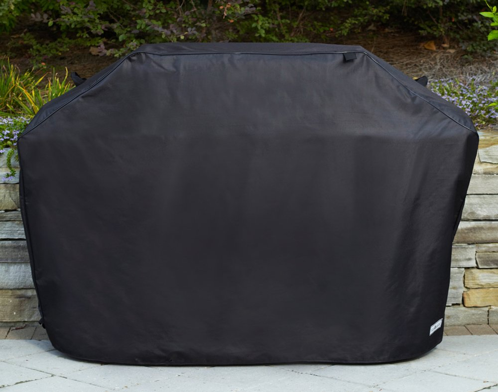 Amazon.com: Patio Armor 70 in. XL Premium Grill Cover, Negro ...