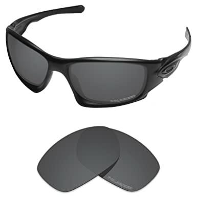 c31615824dc Tintart Performance Lenses Compatible with Oakley Ten X Polarized  Etched-Carbon Black