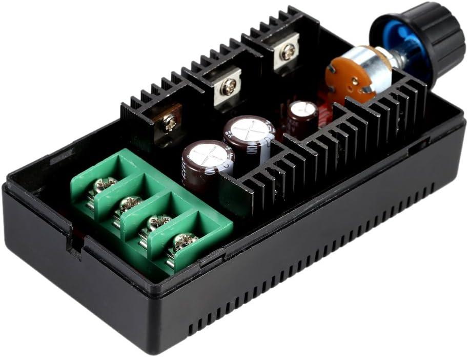 KKmoon 10-50V / 40A / 2000W DC Controlador de velocidad del motor PWM HHO RC Controlador 12V 24V 36V 40V 50V Controlador de velocidad (Tipo1)