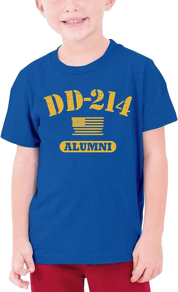 Fzjy Wnx DD 214 Alumni Boys Short-Sleeve T-Shirt