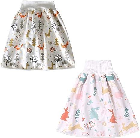 Les enfants de la couche jupe short 2 en 1 Imperméable Et Absorbant Confortable court