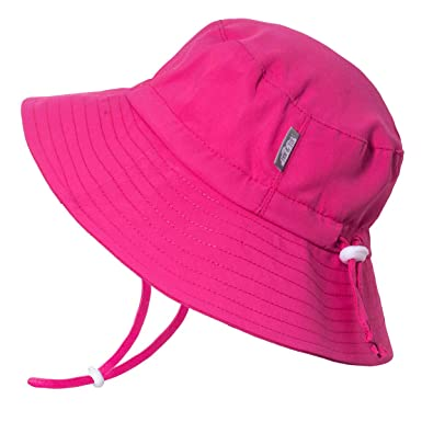 095bb81b141 Amazon.com  JAN   JUL Girls Quick-Dry Sun-Hat 50+UPF Protection ...