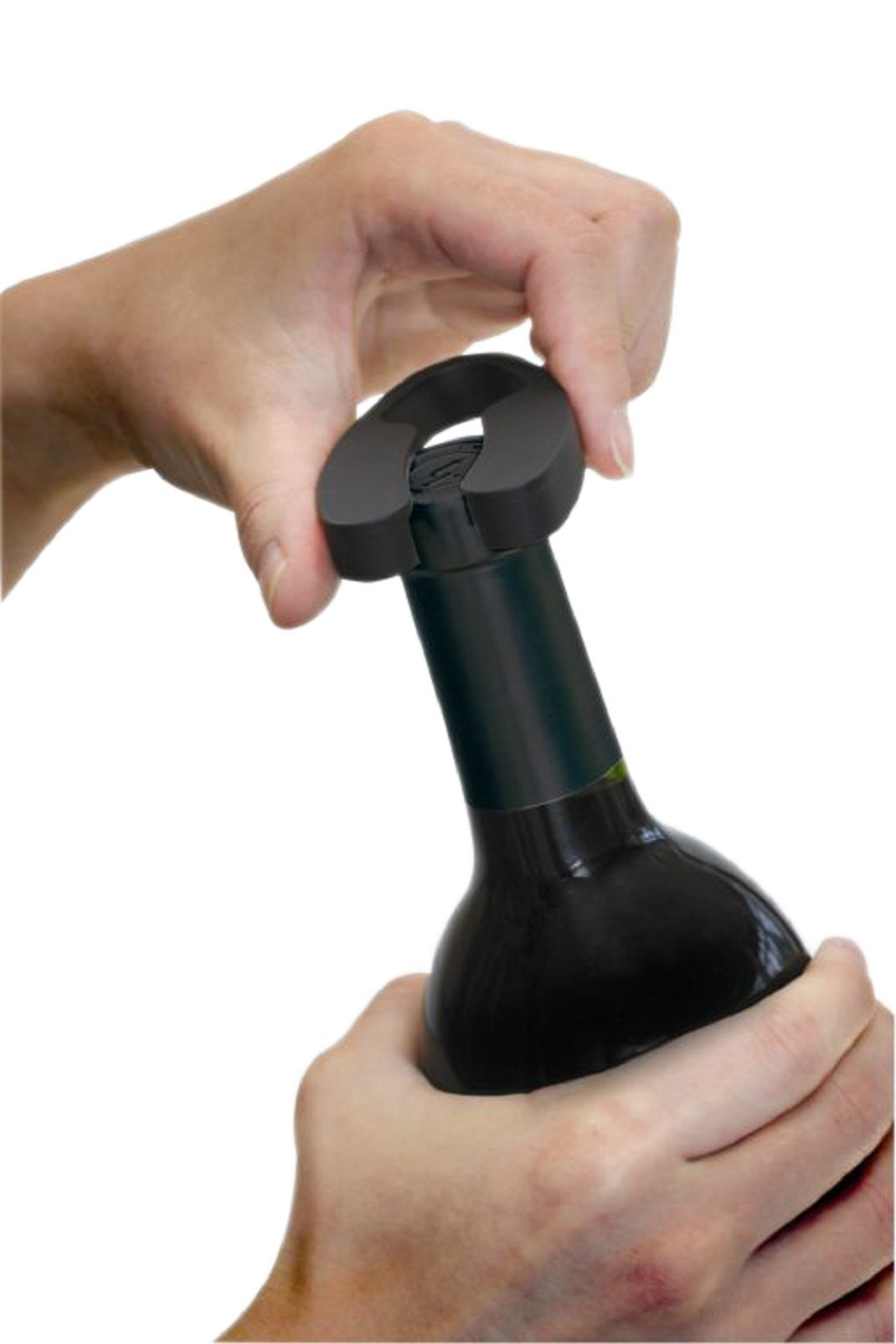 Ozeri Pro Electric Wine Opener with Wine Pourer, Stopper and Foil Cutter, in Black by Ozeri (Image #4)
