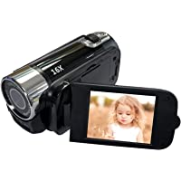 Digitale camcorder-videocamera 1080p Full HD 270° rotatie groothoek-vlogging-camera recorder, 1080p mini DV…