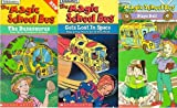 the magic school bus set 3 vhs :The Magic School Bus Gets Lost in Space , The Magic School Bus - The Busasaurus, The Magic School Bus - Plays Ball