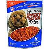 Cheap Carolina Prime Pet 45016 Chicken Broth Infused Sweet Tater Fries Treat For Dogs ( 1 Pouch), One Size