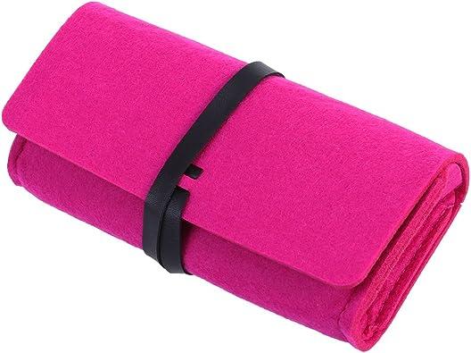SUPVOX Estuche para anteojos de fieltro Bolso para anteojos portátil para viaje (Rosa Roja): Amazon.es: Zapatos y complementos
