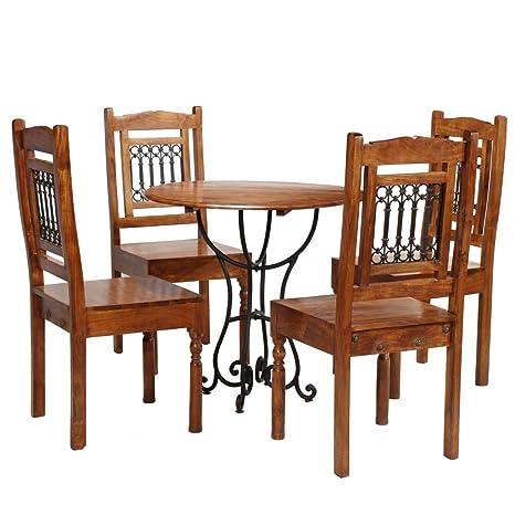 Tidyard Conjunto de Comedor Mueble de Comedor Salon 5 Piezas ...