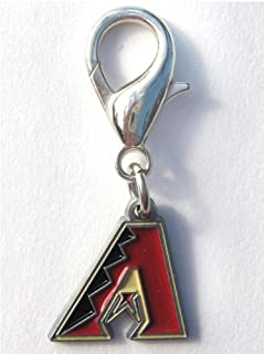 product image for Diva-Dog MLB Baseball 'Arizona Diamondbacks' Licensed Team Dog Collar Charm