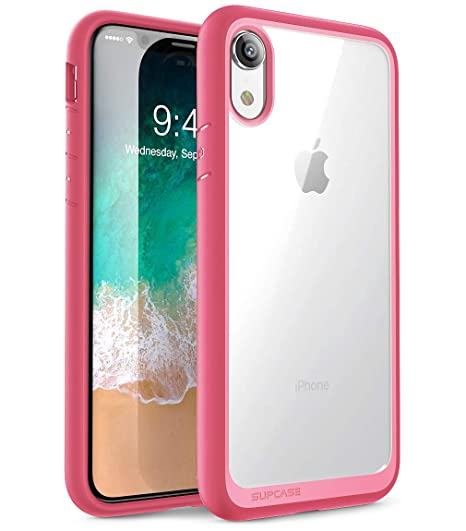 new arrival ba01e 6bba0 iPhone XR Case, SUPCASE [Unicorn Beetle Style Series] Premium Hybrid  Protective Clear Case for Apple iPhone XR 6.1 inch 2018 Release (Pink)