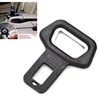 Jadebin Universal Black Metal Seat Belt Alarm Stopper Buckle Cum Bottle Opener