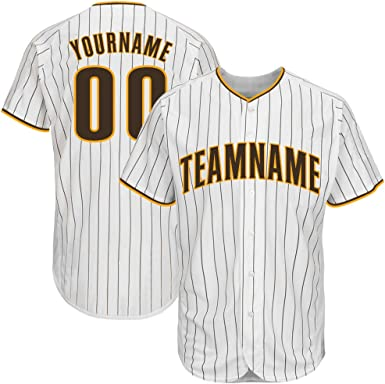Baseball Jerseys Customized Team Name Number Button Down Jersey for Mens Womens Youth