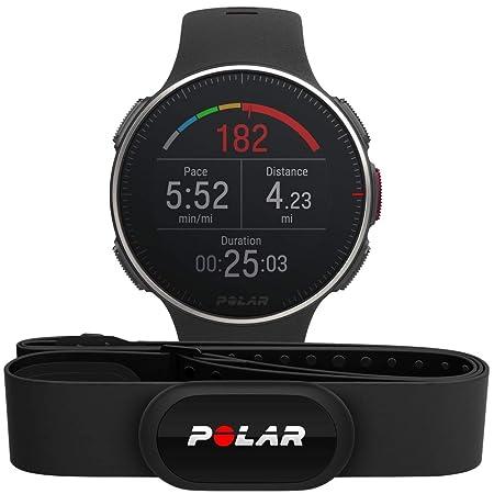 Polar Vantage V Titan HR: Reloj Premium con GPS y Frecuencia Cardíaca. Caja de Titanio. Sensor H10 - Multideporte y perfil de triatlón - Potencia de ...