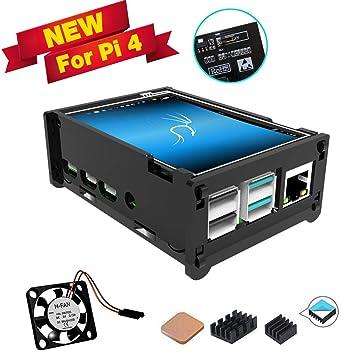 Amazon.com: para Raspberry Pi 4 Pantalla con Ventilador ...