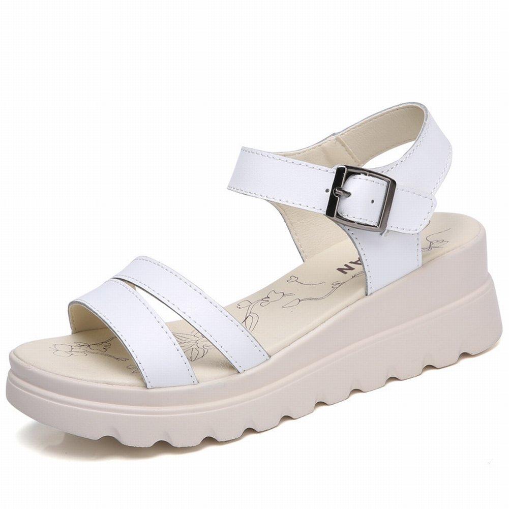 09144d1fa70616 ... High Heels Stiletto mit Fesselriemen T-Spangen Peep Toe Sommer Schuhe