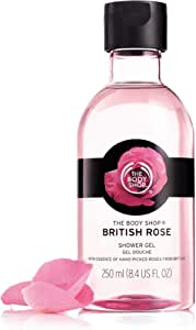 The Body Shop British Rose Petal Soft Shower Gel, 8.4 fl. oz.