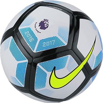 Nike Premier League Pitch Balon de Futbol (White/Royal Blue/Black ...