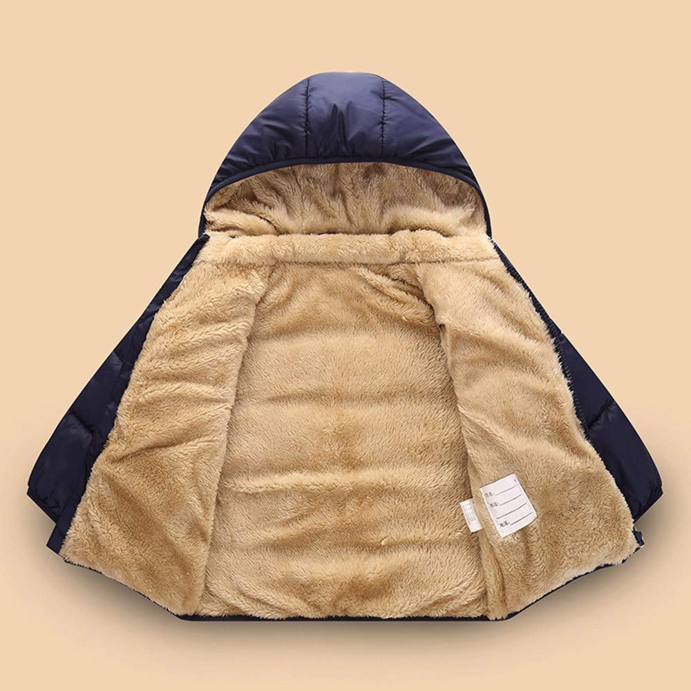 Memela Baby Clothes,Kids Baby Girl Boys Winter Hooded Coat Cloak Jacket Thick Warm Outerwear Clothes
