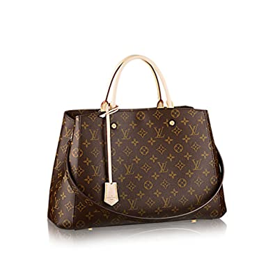 45e610d4d9da Louis Vuitton Montaigne GM Monogram Handbag Article  M41067 Made in France   Handbags  Amazon.com