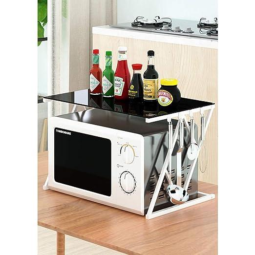 ZXCC Cocina Multiuso Estantería De Cocina, Utilidad Almacenamiento ...