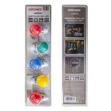Ampoules B22 Led pour guirlande Guinguette ou décoration loundge
