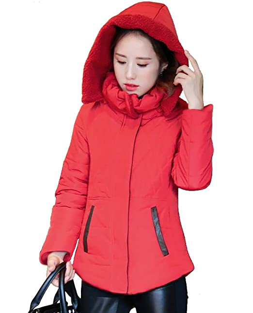 Amazon.com: Pandamum Womens Winter Coat Jacket Quilted Jacket Abrigo de INVIERNO LAS Mujeres: Clothing