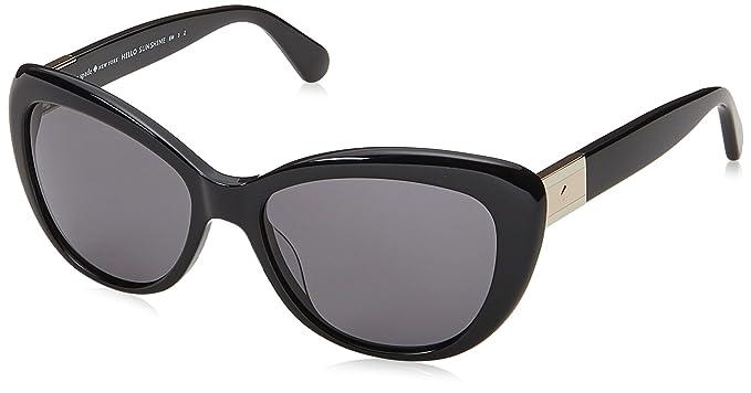 6232cdfd7b Kate Spade New York Womens Emmalynn S Black Grey Polarized One Size One Size