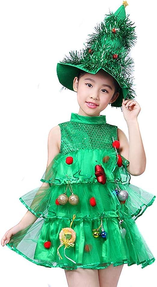 Mcottage Niña Árbol de Navidad Disfraces Niños Cosplay Disfraz ...