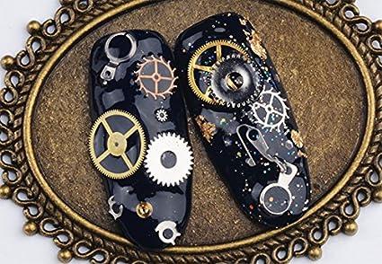 Leisial 100 Unidades DIY Accesorios de Engranaje Steampunk para Joyer/ía de Bricolaje para la Pulsera Collar Pendientes C/áscara del Tel/éfono M/óvil