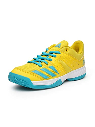 d091869ce Adidas wucht Junior Yellow Badminton Shoe for Kids  Buy Online at Low  Prices in India - Amazon.in