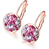 YELLOW CHIMES Crystal based Radiant Clip on Earring for Women and Girls