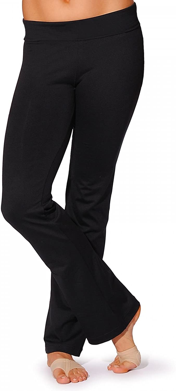 Capezio Jazz Pant with roll-Down Waistband