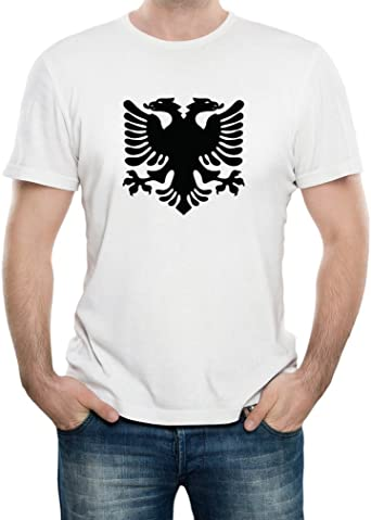 Albanian Eagle Albania Pride T-Shirt 100/% Soft Cotton