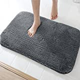 mayshine Design Non-slip Bathroom Mat makes every bath or shower safer and more comfortable. We use microfiber and TPR material of high quality to make this high density and non-shedding thick shaggy rug:       The microfibers are soft...