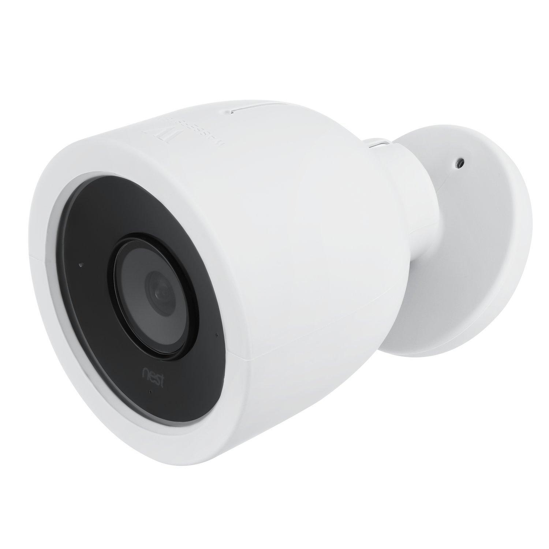 Camouflez et d/écorez Votre cam/éra Pack de 1, Bleu /Étui Nest Cam IQ Outdoor /Étuis color/és en Silicone compatibles avec la cam/éra de s/écurit/é Nest Cam IQ Outdoor Wasserstein