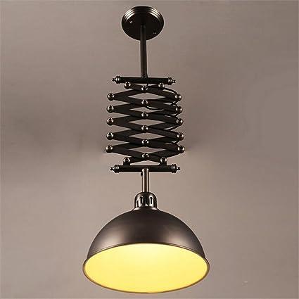E27 Vintage Pendant Light Retractable Ceiling Lights Industrial Retro  Liftable Chandelier Hanging Lights Bedroom Living Room