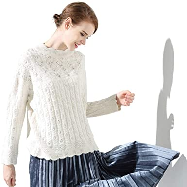 Amazoncom Cable Knit Sweater Cashmere Ladies Crochet Cable Pattern