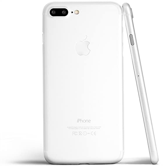 9c1ec3912a totallee iPhone 8 Plus Case, Thinnest Cover Premium Ultra Thin Light Slim  Minimal Anti-