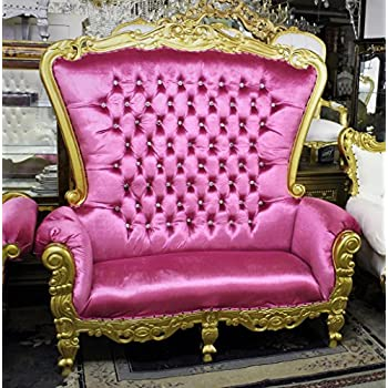 Amazon Com Tiffany Royal Queen High Back Love Seat Throne