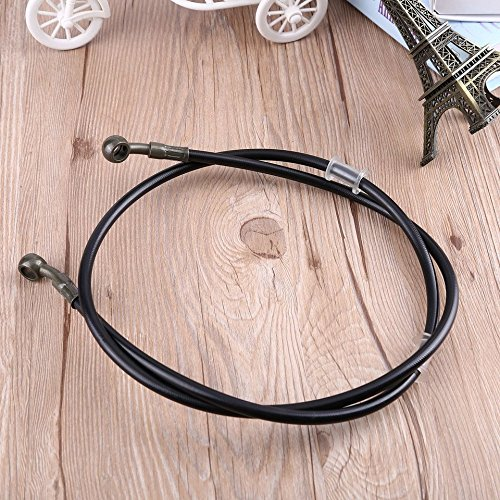 baynne-motorcycle-braided-steel-brake-clutch-oil-hose-pipe-tube-for-racing-dirt-bikecolor-black