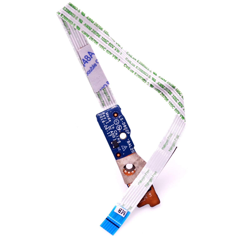 Boton encendido para Dell Inspiron 15 5565 5567 5768 5767 P6